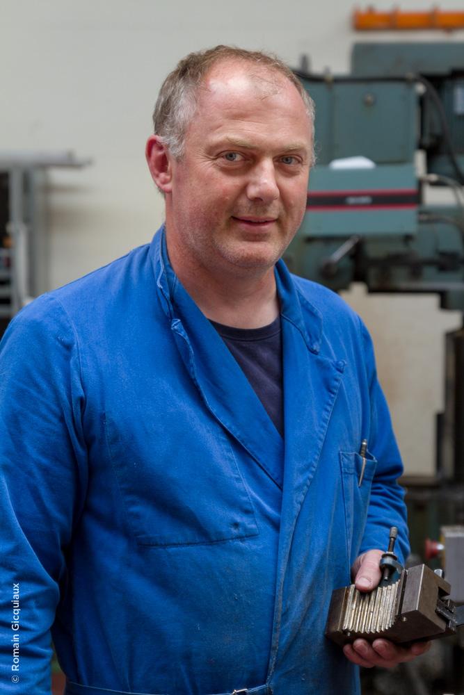 Vausselin Christophe – Technicien Prototypes