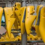 Formes permettants l'assemblage des chaussures