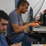 Léo et Mohamed Ali et leur talon