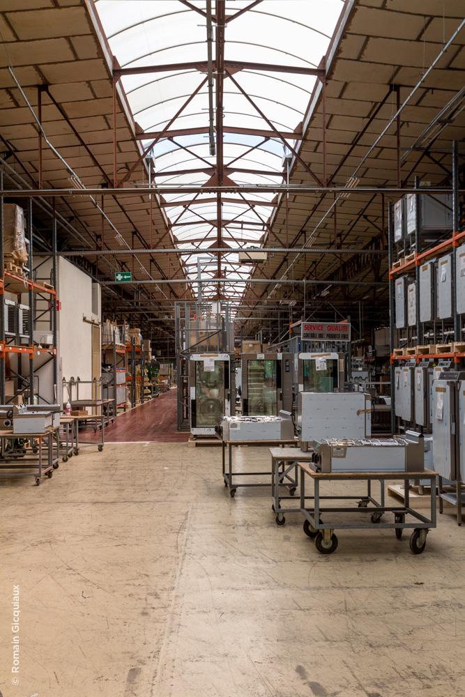 Dans l'usine Bourgeois