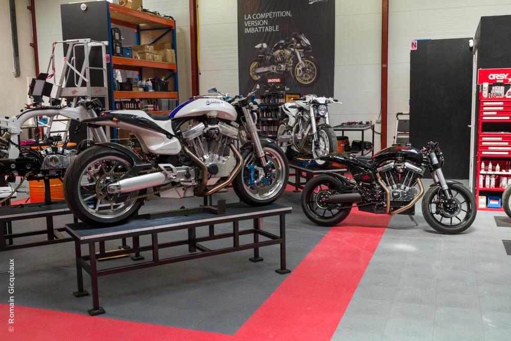 Avinton Une Moto Fran 231 Aise Haute Couture Le Tour De