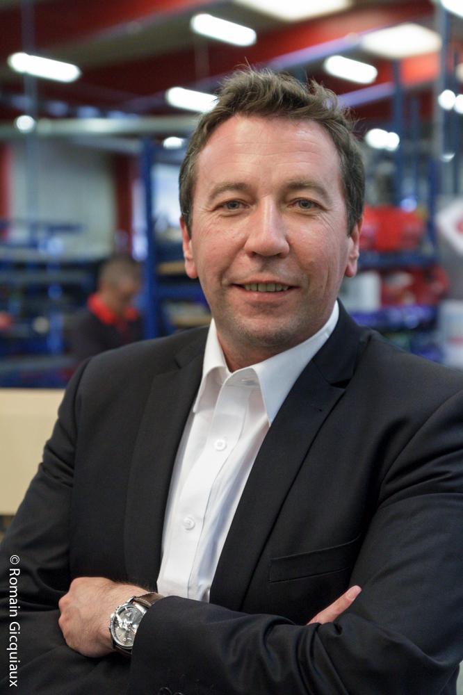 Fabien Rozuel, directeur marketing chez Krampouz