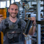 Romain, technicien enroulement filamentaire