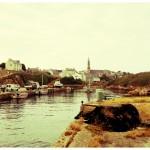 Eglise de Lampaul et son petit port