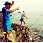Pêche à la vielle