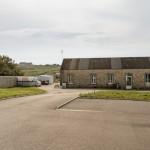 Le bâtiment qui accueille le labo